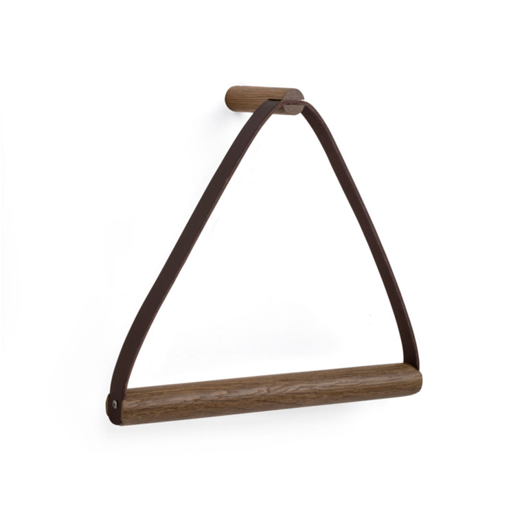 By Wirth Towel Hanger Smoked