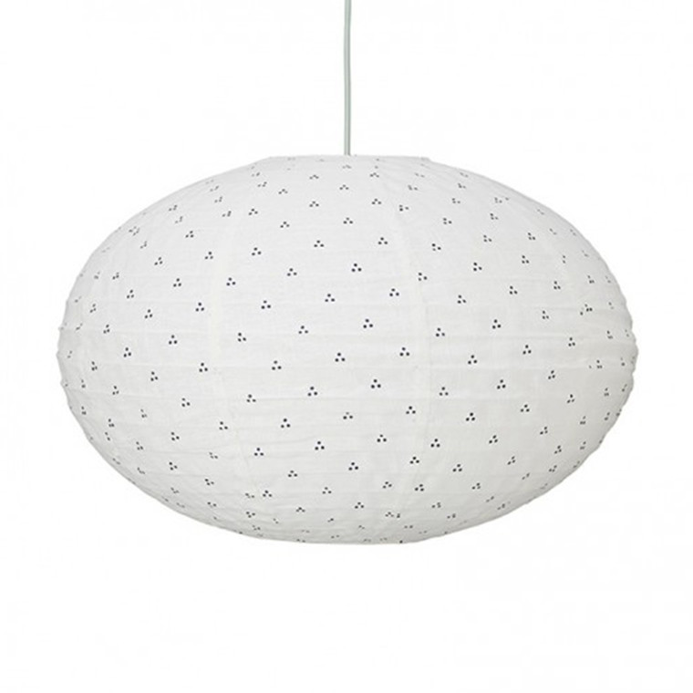 Cam Cam Lampe Ellipse Navy Dots