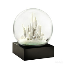 Coolsnowglobes NYC white snow globe