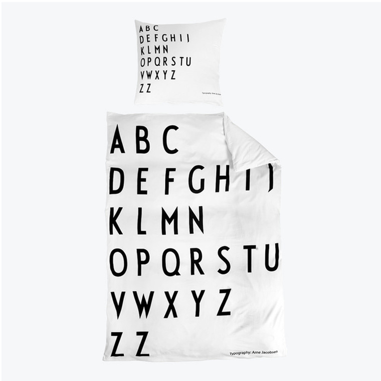 Design Letters ABC Dynebetræk 140x200