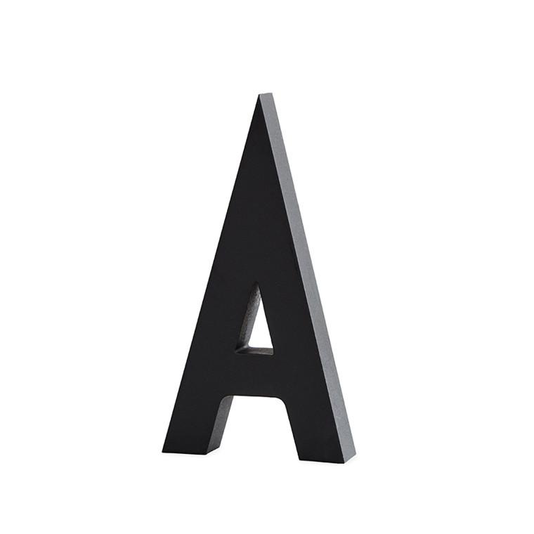 Design Letters Bogstaver Aluminium 50mm sort