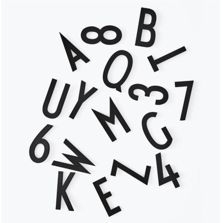 Design Letters Bogstavboks 50 mm Sort