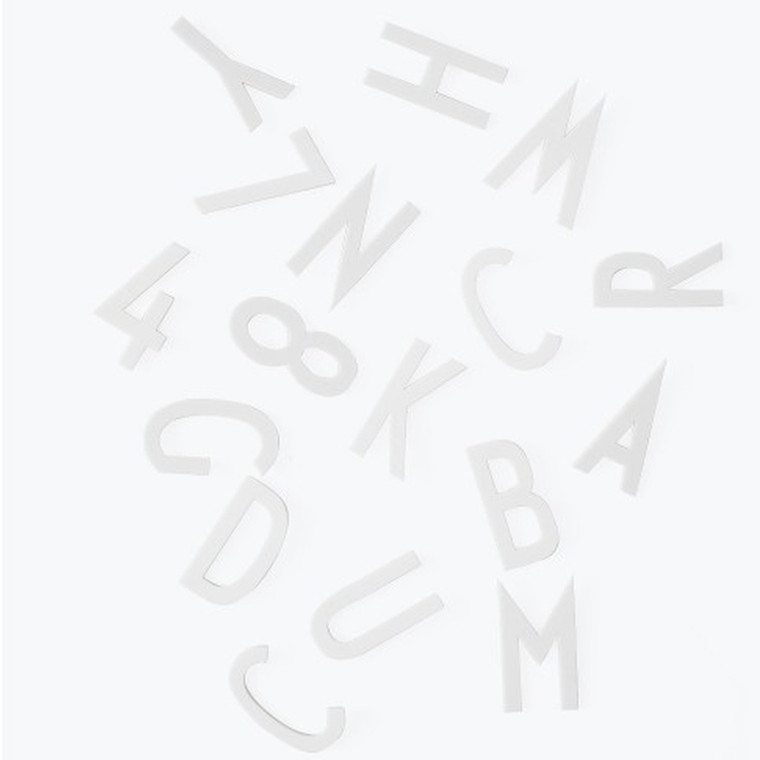 Design Letters Bogstavboks 50 mm Hvid