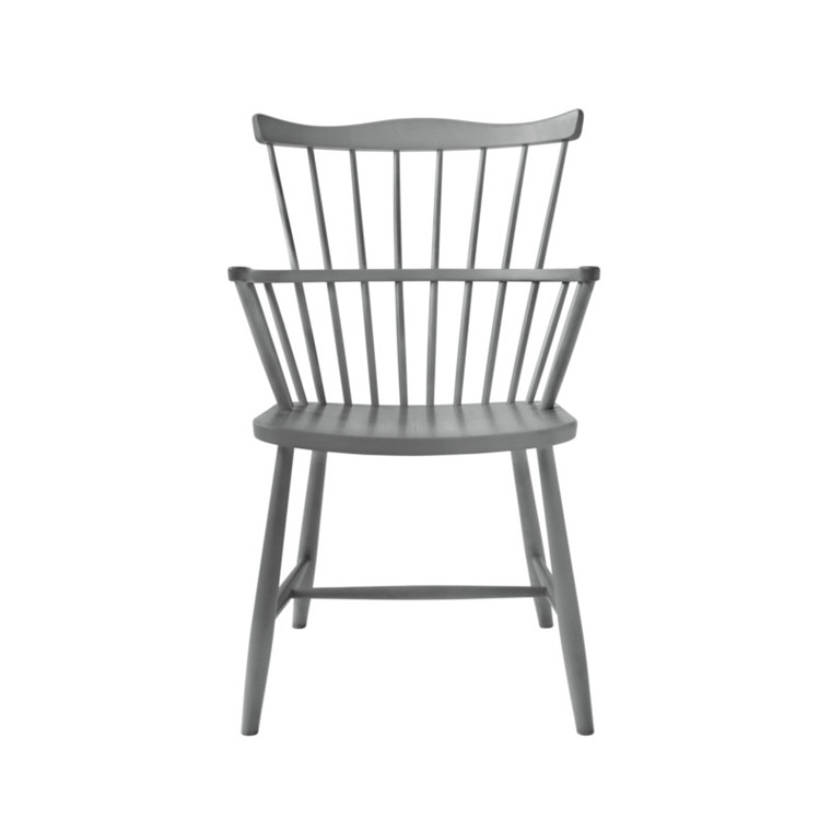 FDB J52B Børge Mogensen Spisebordsstol Grålakeret Bøg
