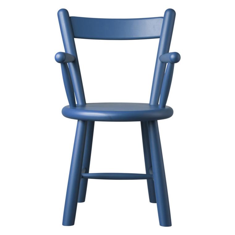 FDB P9 Børge Mogensen Børnestol Blå