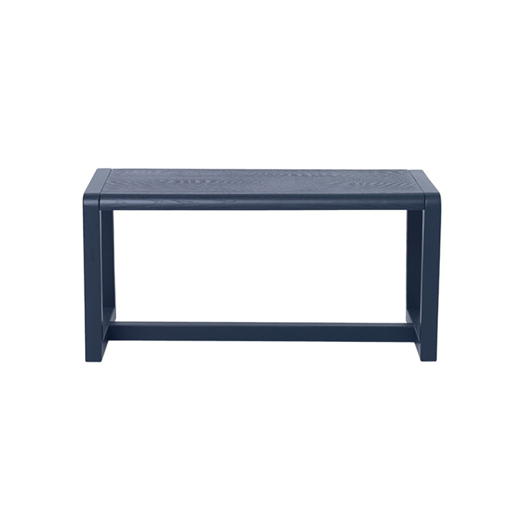 Ferm Living  Little Architect Bench, Dark Blue