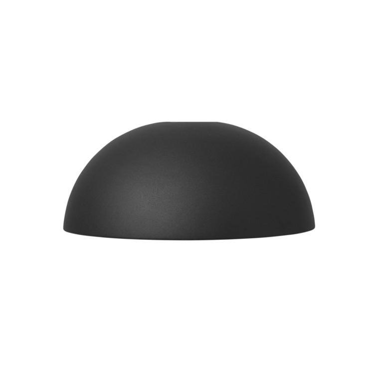 Ferm Living Collect Lightning Dome Lampeskærm Sort