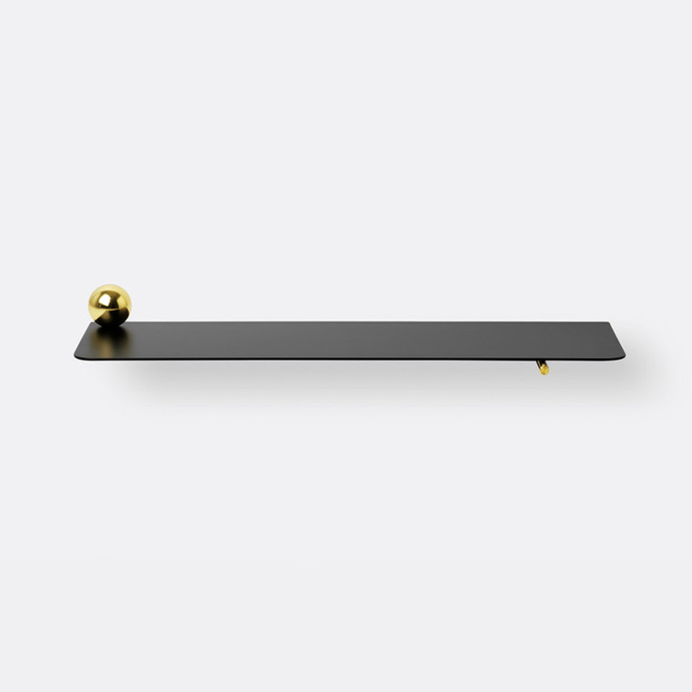 Ferm Living Flying Shelf Sphere Hylde Messing