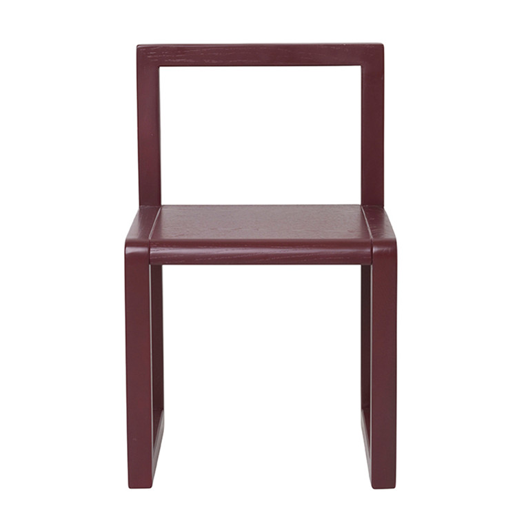 Ferm Living Little Architect Chair - Bordeaux