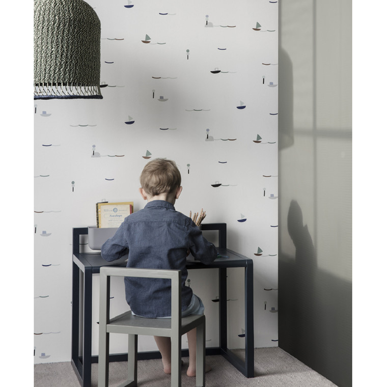 Ferm Living Little Architect Skrivebord - Dark Blue