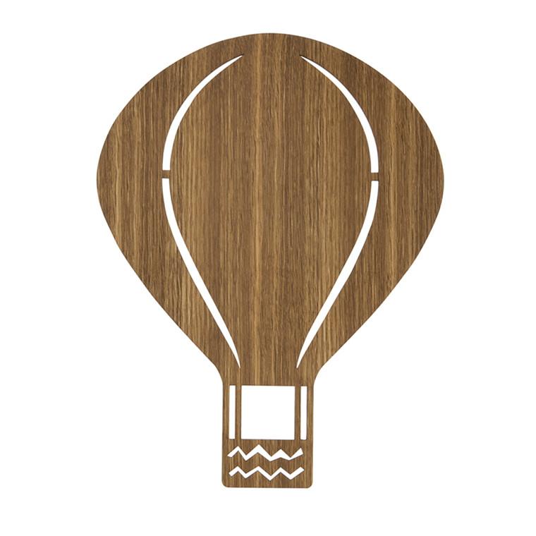 Ferm Living Luftballon Lampe  Røget eg
