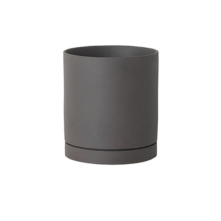 Ferm Living Urtepotte Sekki Pot Charcoal Large