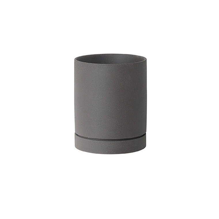 Ferm Living Urtepotte Sekki Pot Charcoal Medium