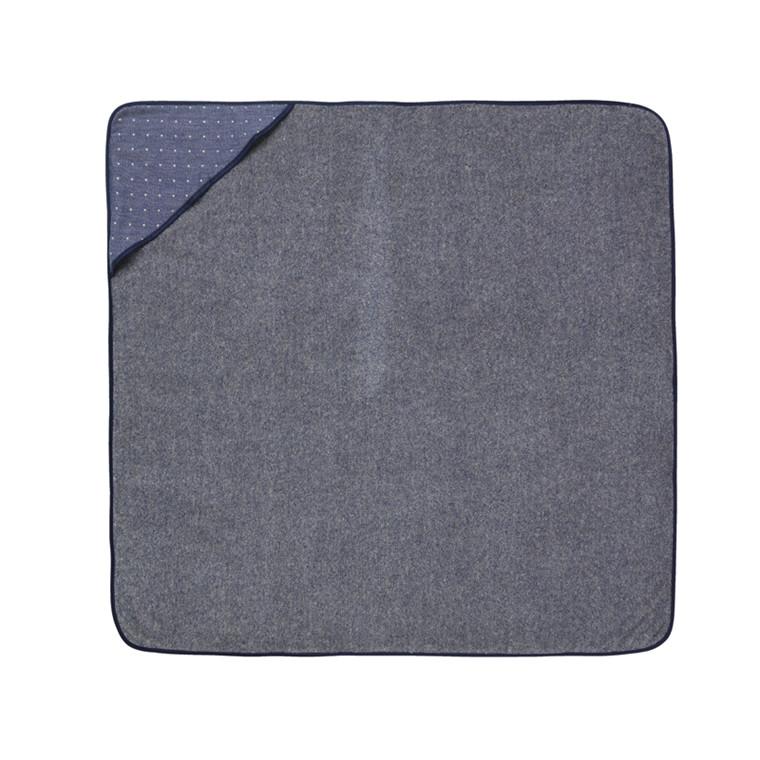 Ferm Living baby håndklæde Sento, Blå