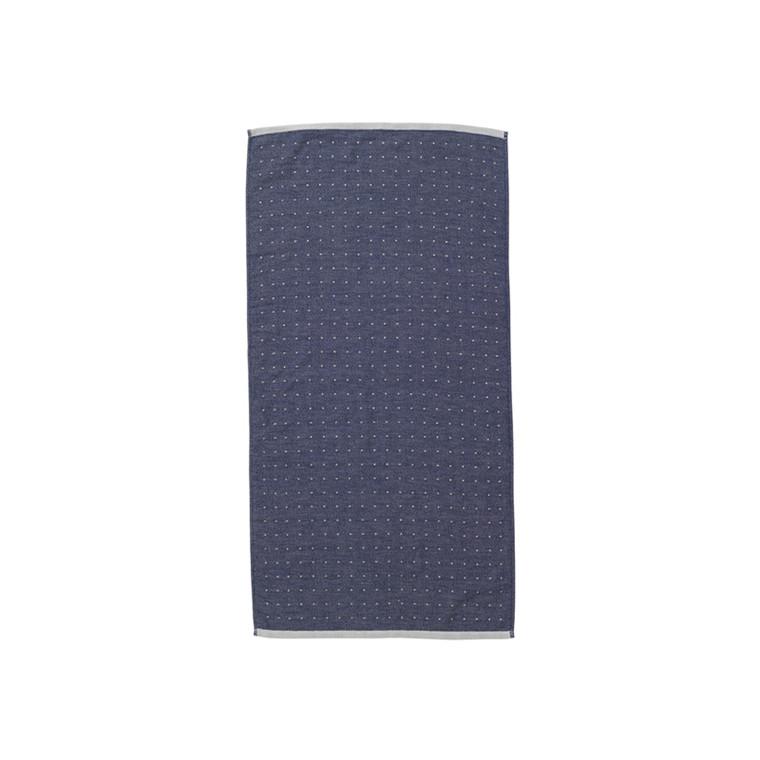 Ferm Living Håndklæde Sento, Blå