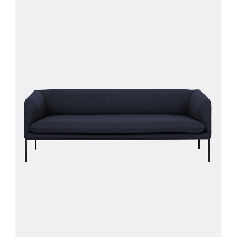 Ferm Living Turn Sofa Fiord Solid Mørk Blå