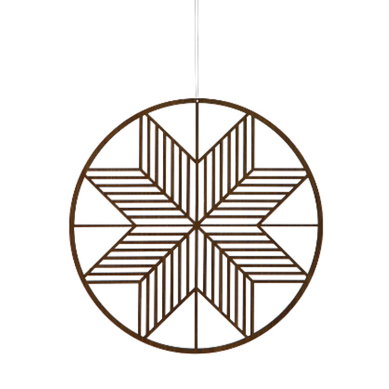 Ferm Living  Wooden Crystal Stor