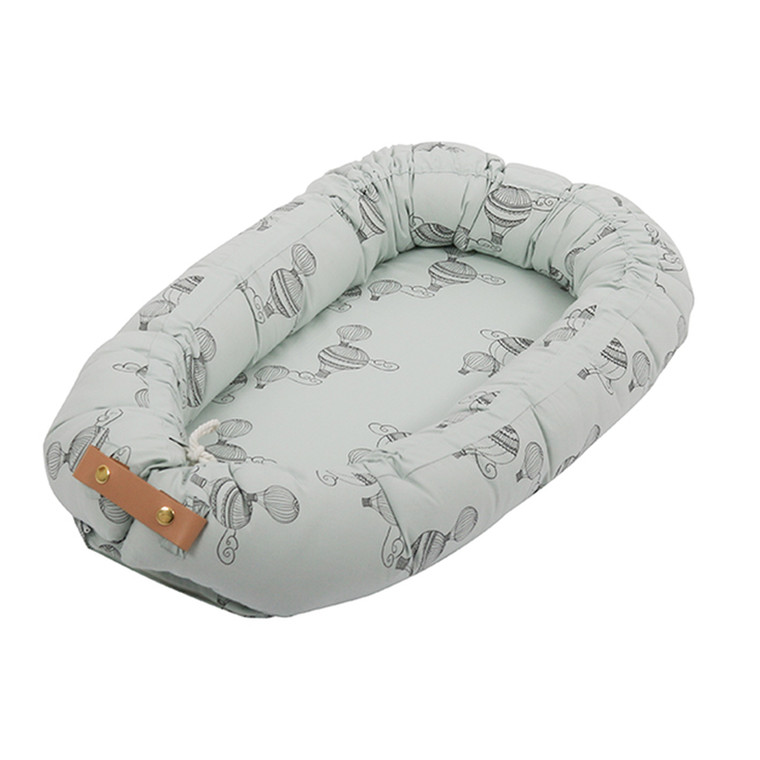 Filibabba Babynest Luftballon Light Mint
