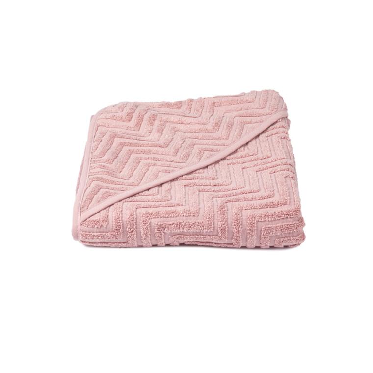 Filibabba Badehåndklæde Zigzag Rose