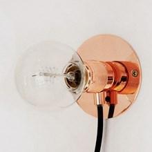 Frama Cph E27 Væglampe Kobber
