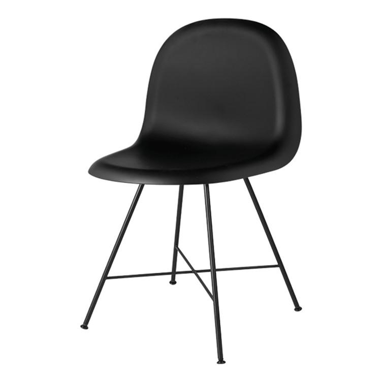 GUBI 3D Stol Sort/Sort