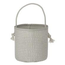 Ferm Living Mini Basket Grey Cross