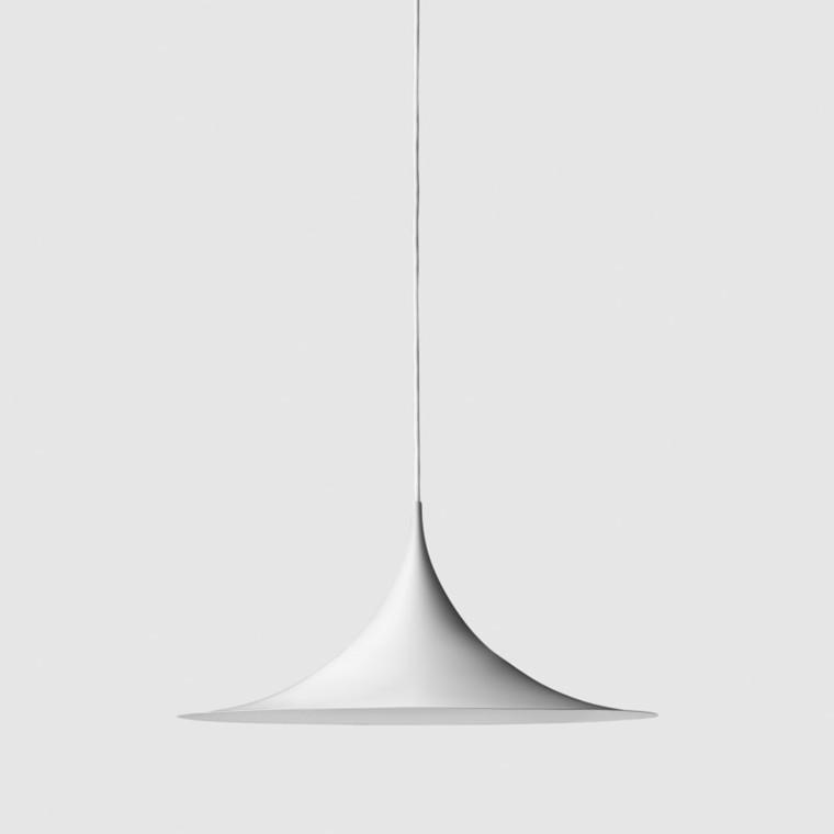 Gubi Semi Pendel Hvid Ø30 cm.