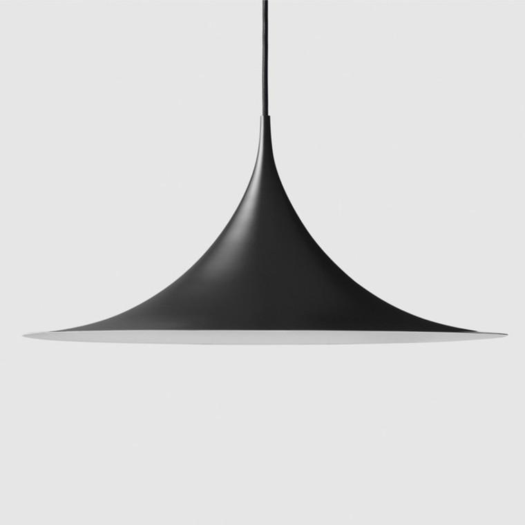 Gubi Semi Pendel Sort Ø60 cm.