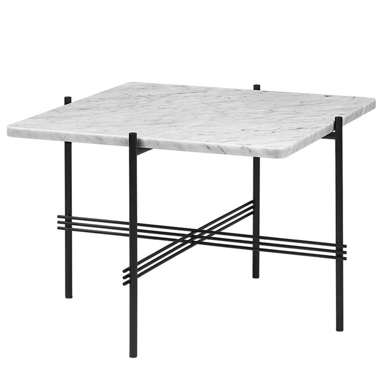 Gubi TS Table Square hvid Marmor
