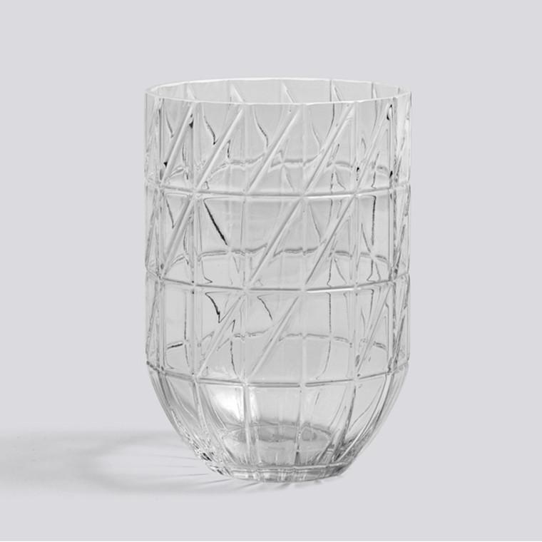 HAY Colour Vase L Transparent