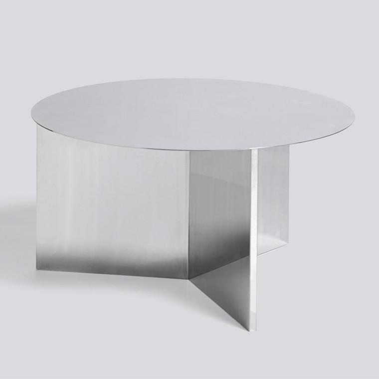HAY Slit Sofabord Rund Mirror XL
