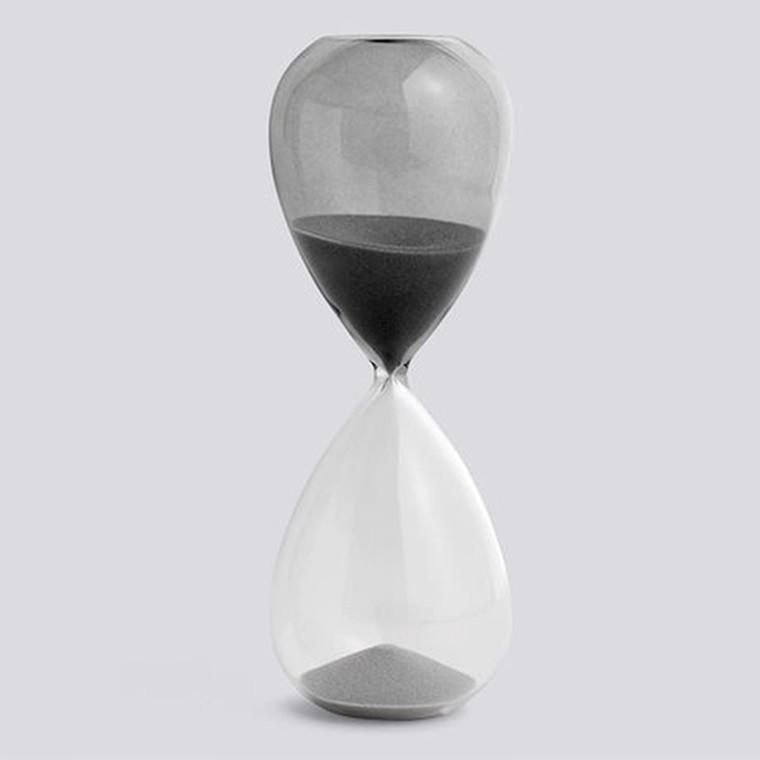 HAY Time Timeglas 30 Minutter Grå L