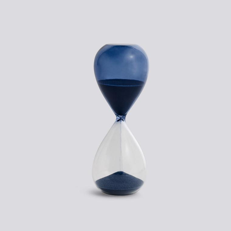 HAY Time Timeglas 15 Minutter Petrol M