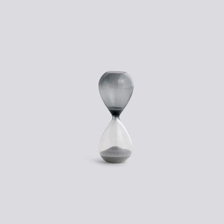 HAY Time Timeglas 3 Minutter Sølv  S