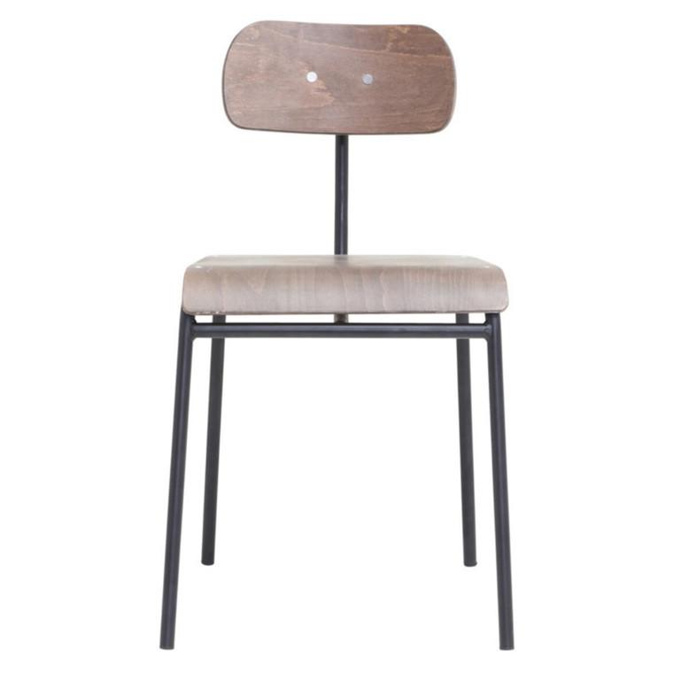 House Doctor School Spisebordsstol Mørkebrun