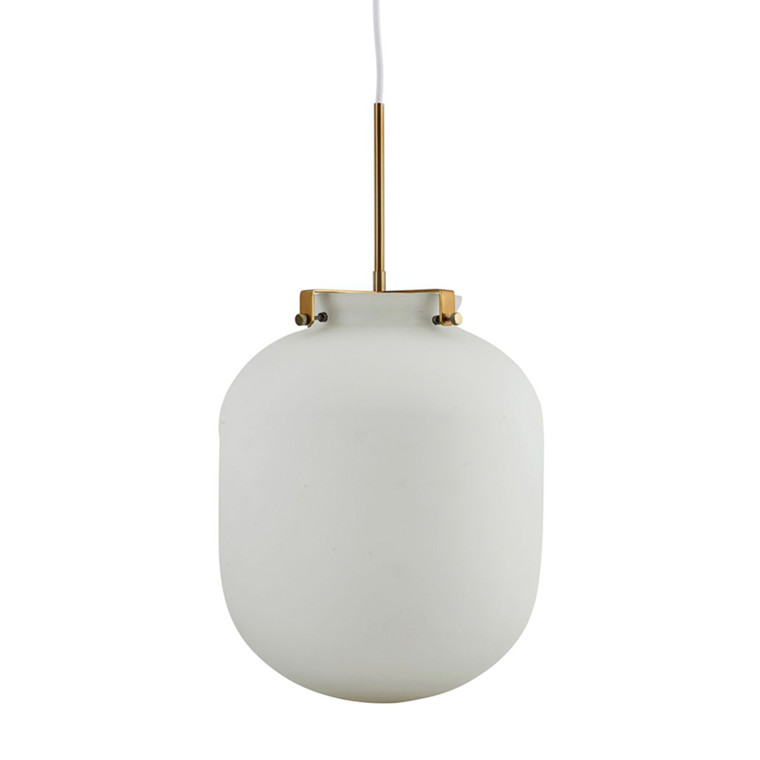 House Doctor Lampe Ball, Hvid