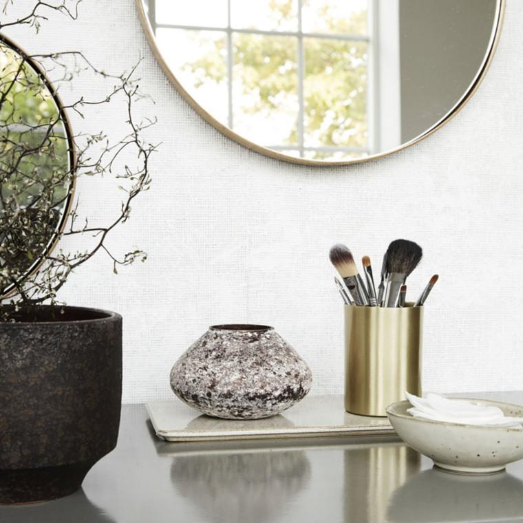 house doctor vase miles brun smuk glas vase. Black Bedroom Furniture Sets. Home Design Ideas