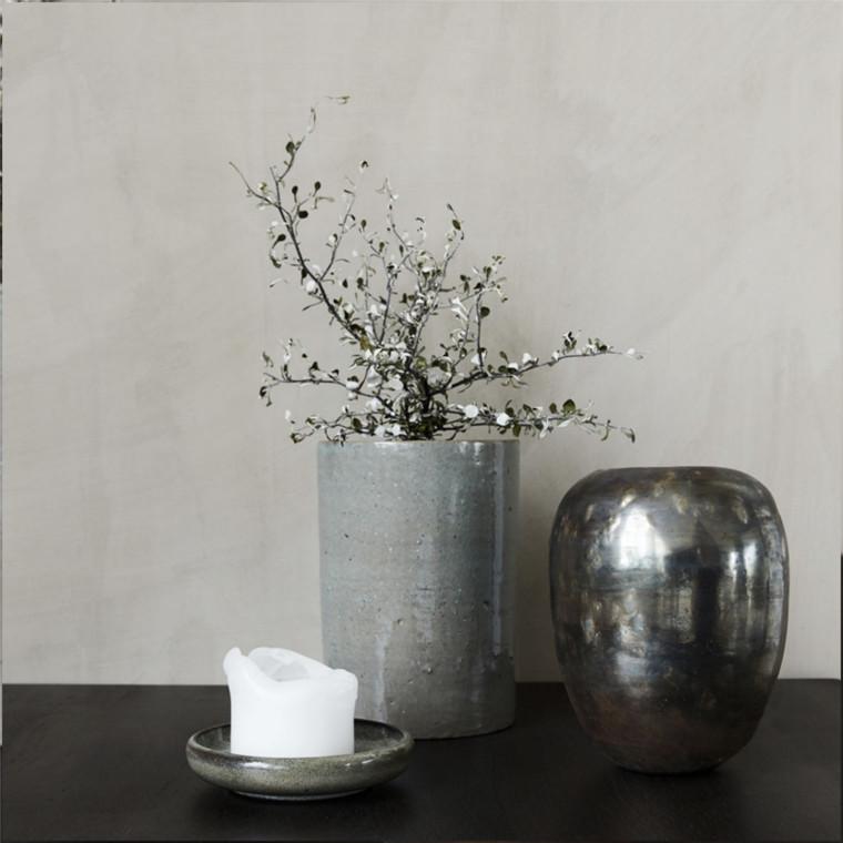 house doctor vase mirror 14 5cm dekorativ glas vase. Black Bedroom Furniture Sets. Home Design Ideas
