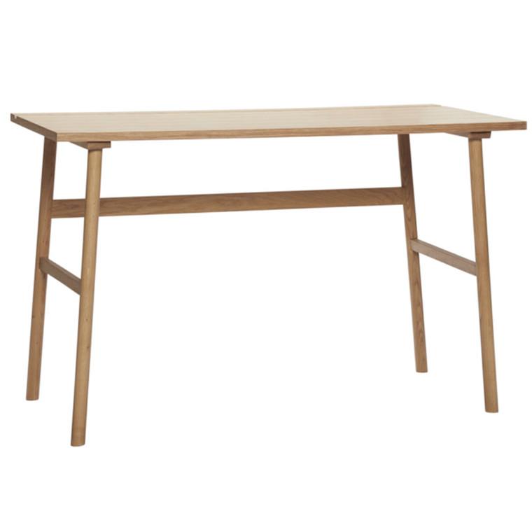 Hübsch Skrivebord L120 Cm. Egetræ