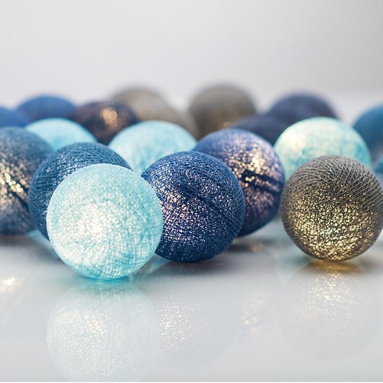 Irislight Lyskæde Ocean Blue