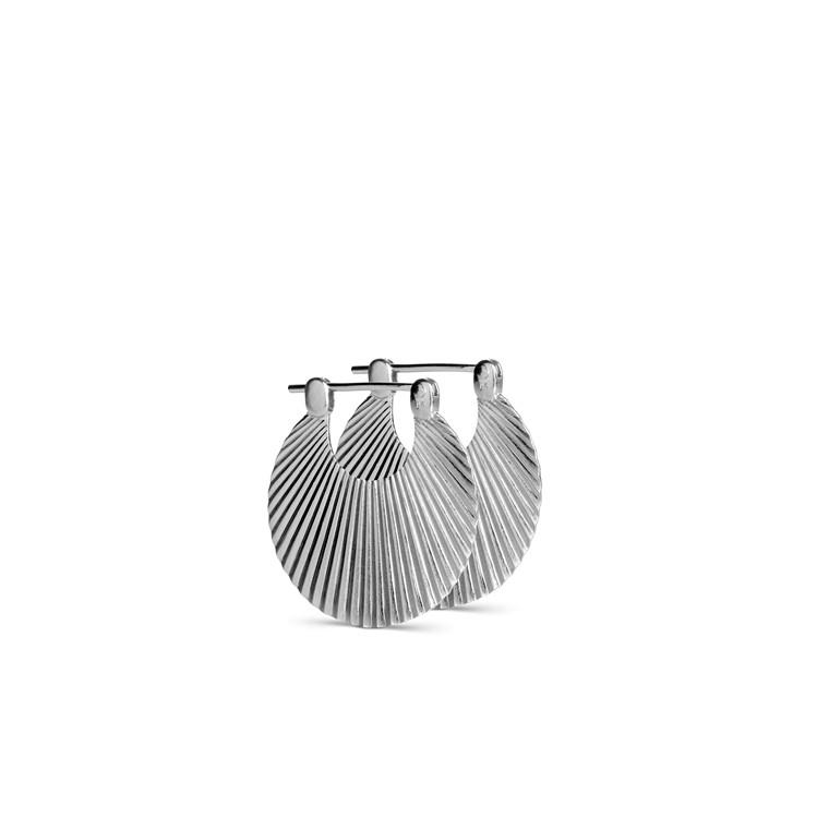 Jane Kønig Shell Ørering Lille Sølv