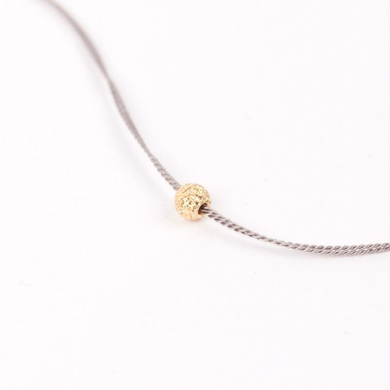 Jukserei Good Luck Bracelet/Stardust Grå