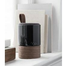 Kähler Fugato keramik højtaler Mørkegrå
