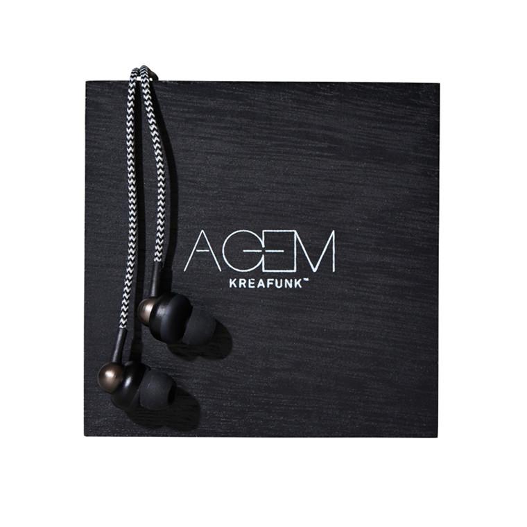 Kreafunk aGEM Høretelefoner, Black edition
