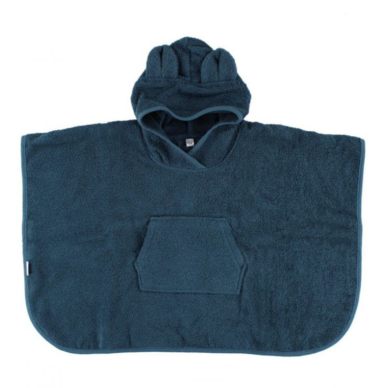 Liewood Poncho  Mr. Bear Petrol