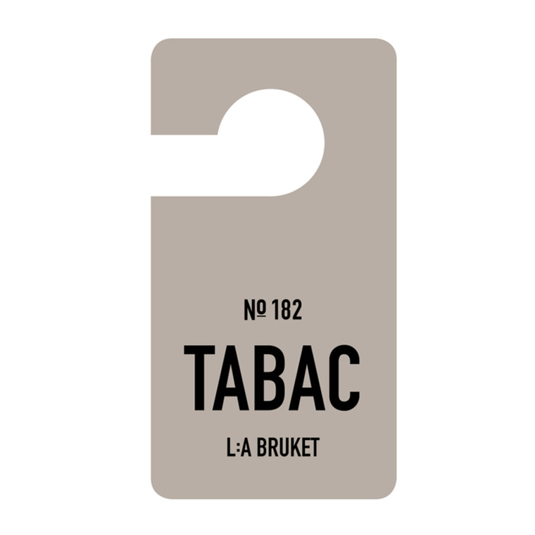 La Brucket Fragrance Tag Tabac