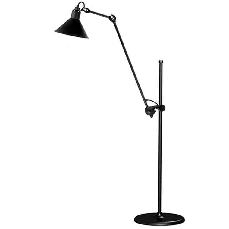 Lampe Gras No. 215 Gulvlampe Sort