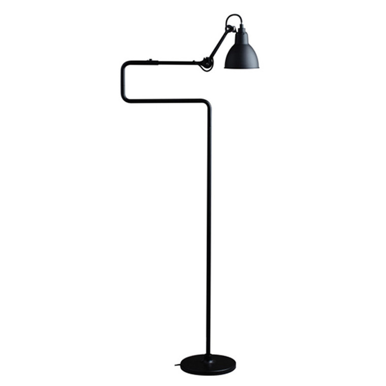 Lampe Gras No. 411 Gulvlampe Sort