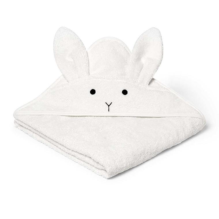 Liewood Håndklæde Kanin Hvid