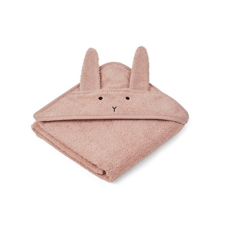 Liewood Håndklæde Kanin Rose Baby